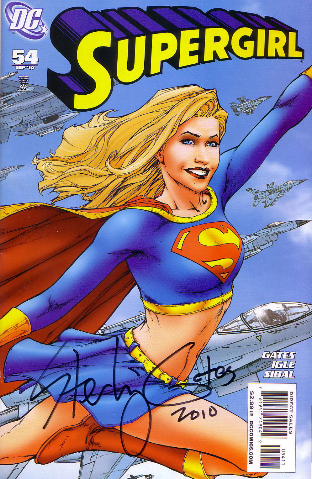 supergirl_54_signed
